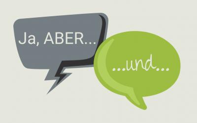 ABER… Ein Wort das viel kaputt macht